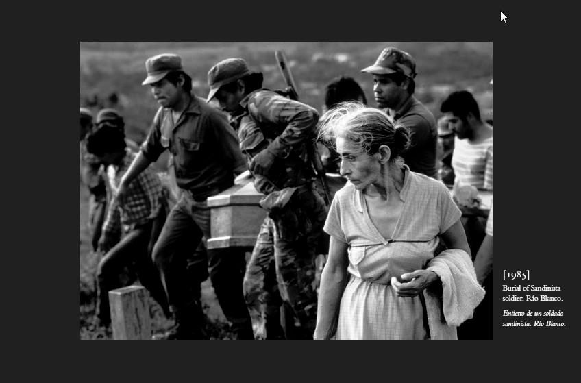 Burial of Sandinista Soldier